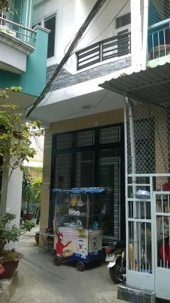 Cho thuê hoặc bán nhà hẻm nội bộ rộng 4m đường trần đình xu