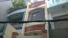 Cho thuê nhà hẻm rộng 4m võ văn tần, quận 3: 3m x 23m, 2 lầu