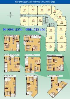 Tôi cần bán căn hộ số 1217 tòa ct2c giá gốc chỉ 23 tr/m2