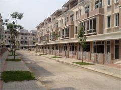Cho thuê liền kề dương nội 100 m2 4,5 tầng