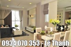 Cho thuê căn hộ 90 nguyễn hữu cảnh, 1pn,2pn nội thất đầy đủ.