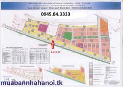 Bán đất nền dự án liền kề phú lương, giá 18tr/m2