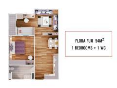 Bán căn hộ flora fuji quận 9, giảm giá đến 3%, 1.1 tỷ/căn