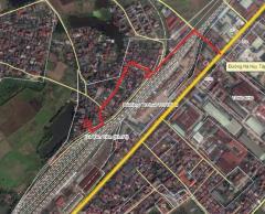 Bán đất ở thị trấn yên viên, gia lâm, hà nội 45m2-550tr