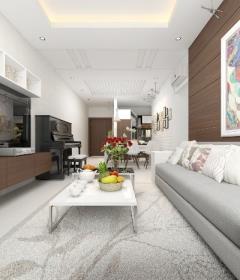 Cho thuê căn hộ cao cấp keangnam landmark 72, dt 160m2, 4pn
