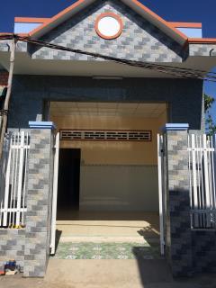 Nhà mới xây 280 triệu/ 54m2 tại ấp 4 xã trung an tp mỹ tho t