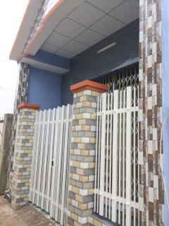 Nhà mới xây 340 triệu/ 63m2 thổ cư tại ấp 1 xã trung an tp m