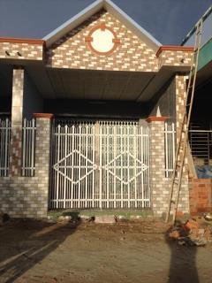 Nhà mới xây 485 triệu/ 110m2 phường 5 tp mỹ tho tiền giang