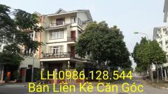 Bán nhà liền kề ô góc 172m2 giá 33tr/m2 khu đô thị vân canh.