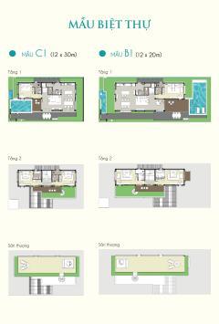 Biệt thự mystery villas bãi dài, chỉ từ 9 tỷ/căn.