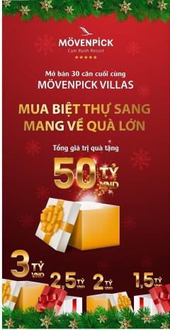 Movenpick villas cơ hội đầu tư tốt nhất thị trường bãi dài