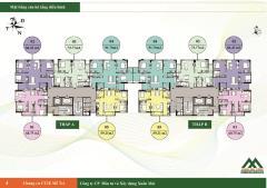 Bán căn góc 60m2 chung cư ct2e vov mễ trì đang giao nhà
