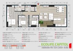Bán cccao cấp chung cư ecolife capitol, giá 26tr nhận nhà