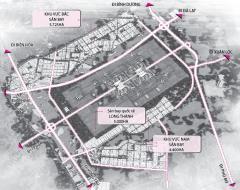 Bán 15.000m2 đất mặt tiền đường chính vô sân bay long thành