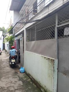 Bán nhà hẻm 435 huỳnh tấn phát, quận 7 dt 60m2 giá 1,85tỷ