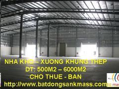 Cho thuê kho xưởng huyện quốc oai 2000 m2