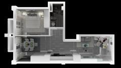 Bán căn hộ 4 sao cham oasis 50.2m2, nội thất đủ, giá 2,49 tỷ