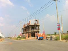 Đất nền phố thương mại, ven hồ bình chánh, sổ hồng riêng