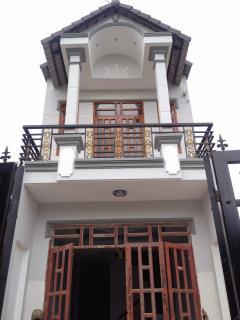 Nhà mới xây phan văn hớn, hóc môn, 75m2, khu an ninh