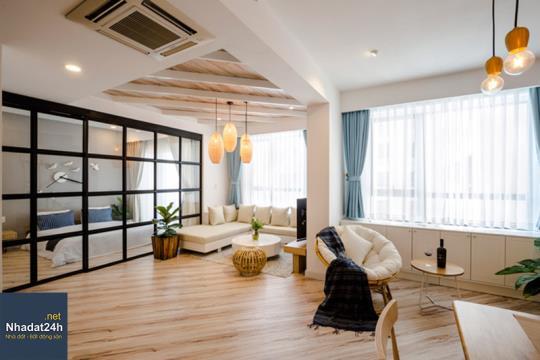 Chiêm ngưỡng thiết kế nội thất chung cư 72m2 đầy đủ tiện nghi