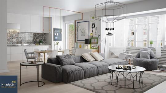 Chiêm ngưỡng thiết kế nội thất biệt thự mini đầy đủ tiện nghi