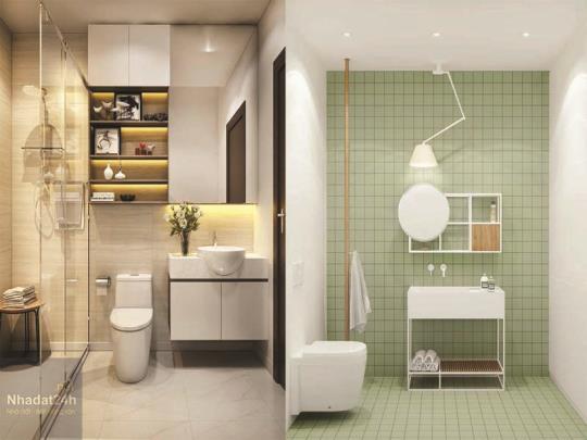 Lời khuyên lựa chọn nội thất phòng tắm nhỏ đẹp miễn chê
