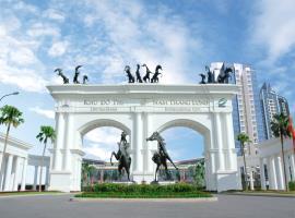 Cổng vào Khu đô thị Ciputra