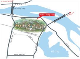 Vị trí khu đô thị Nam Thăng Long - Ciputra Interna