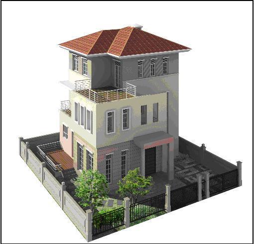 Biệt thự khu đô thị mới Bắc An Khánh