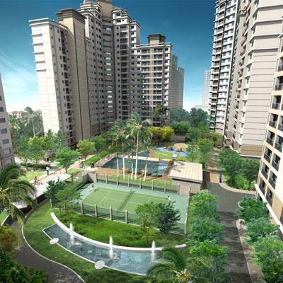 Phối cảnh chung cư dự án khu đô thị mới Bắc An Khánh