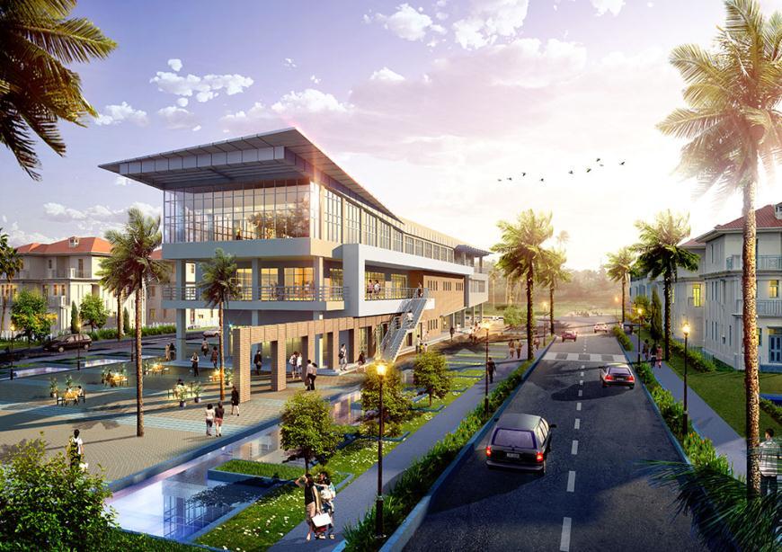 Khu sinh hoạt cộng đồng khu đô thị mới Bắc An Khánh