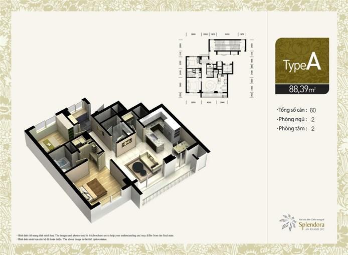 Mặt bằng chung cư căn hộ Akhu đô thị mới Bắc An Khánh