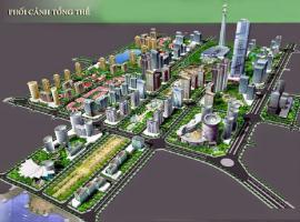 Phối cảnh tổng thể dự án khu độ thị Thanh Hà