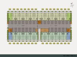 Mặt bằng tầng 1 dự án khu độ thị mới Thanh Hà