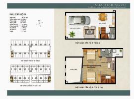 Mẫu căn hộ B Khu đô thị mới Thanh Hà