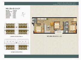 Mẫu  căn hộ C3 C3 sao khu đô htij mới Thanh Hà