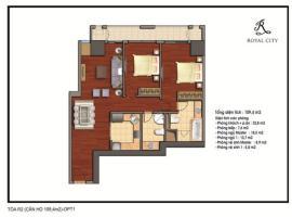 R2-10 tầng 32-Chung cư Royal City - Tầng: 32