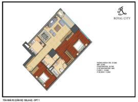 R3-20 tầng 5-Chung cư Royal City - Tầng: 5