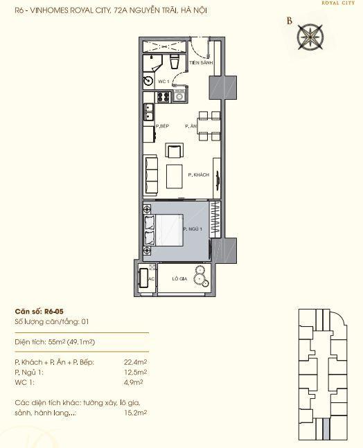 R6-05 Chung cư Royal City
