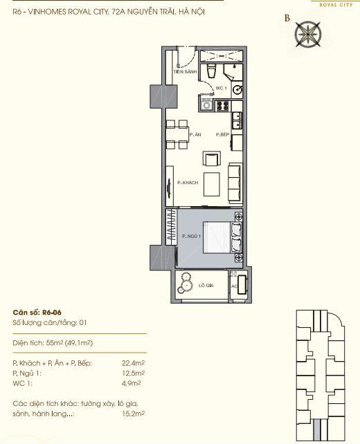 R6-06 Chung cư Royal City