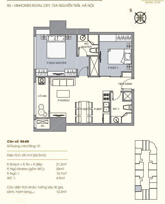 R6-08 Chung cư Royal City