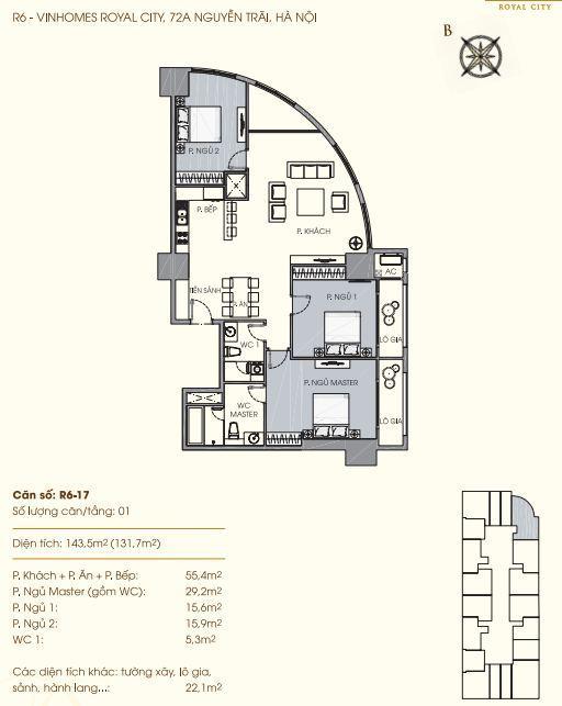 R6-17 Chung cư Royal City