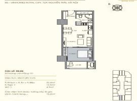 R6-06 Chung cư Royal City - Tầng: 8