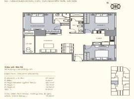 R6-10 Chung cư Royal City - Tầng: 8
