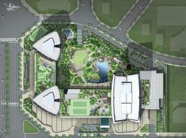 Mặt bằng tổng thể dự án Keangnam