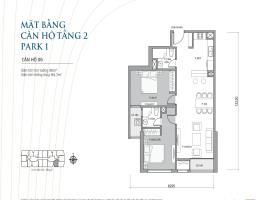 Căn hộ 06 tầng 2 park 1