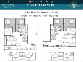 CĂN HỘ 12A VÀ 04 120M2