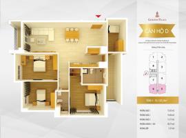 Căn 5-6 -  D - Golden Palace LVL