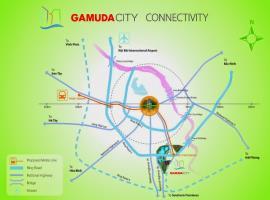 vị trí dự án Gamuda gardens