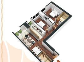 Bán chung cư Golden Land diện tích 93m2 - Tầng: 8